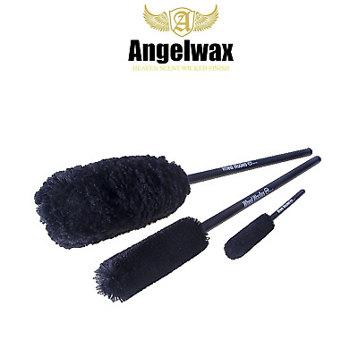 Angel Wax Wheel Woolies Brushes 3 Pack Kit