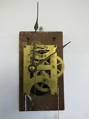 Antique Seth Thomas Time Only School Clock Movement Parts