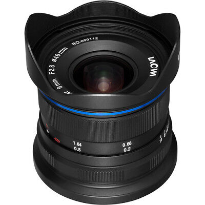 New Venus Optics Laowa 9mm f/2.8 Zero-D Lens for Fuji X Mount Free Shipping