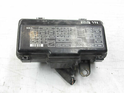 acura tl 99-03 fuse box under hood engine bay, relay bank, 3 2