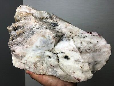 New!!! Top Quality Solid White Mixed Pattern Agate Rough - 23 Lb - From India