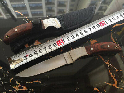 027# Browning Fixed Blade Knife Outdoor Tool Camping Survival Hunting Fishing CA