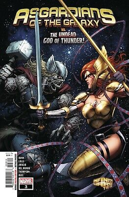 Asgardians Of The Galaxy #3 - 1St Print - Marvel - Bagged & Boarded. Free Uk P+P