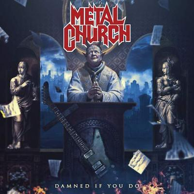 METAL CHURCH New Sealed Ltd 2019 DAMNED IF YOU DO COLORED VINYL RECORD