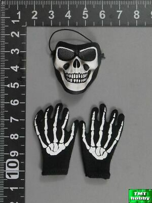 1:6 Scale Soldier Story SS105 ISAF Iraq Special Force - Skull Face Mask & Gloves