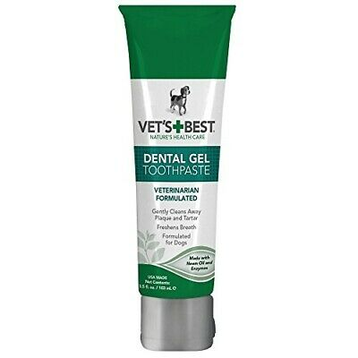 Vet's Best Enzymatic Dog Toothpaste Teeth Cleaning and Fresh Breath Dental Car