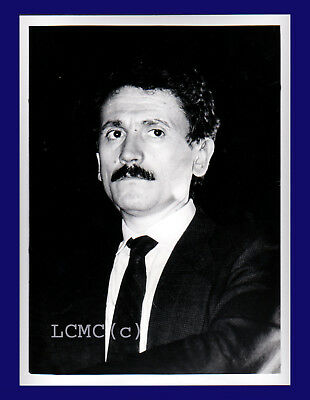 Fotografia Press Photo 1993 Sinistra Italiana Massimo D'alema  Leader Maximo Pds