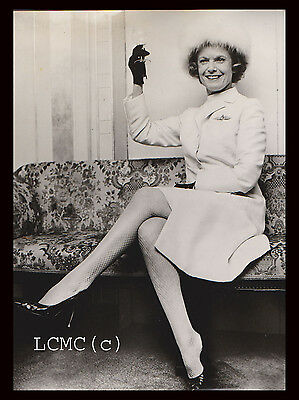 Fotografia Press Photo 1969 Attrice Anna Neagle Al Cocktail Al Dorchester Hotel