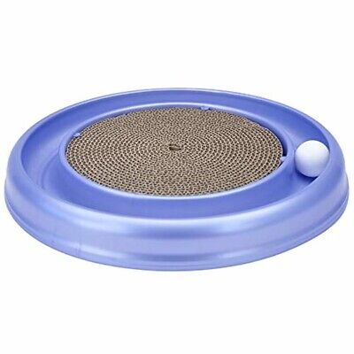Bergan Turbo Scratcher Cat Toy with 1 Ball, Replacement, Colors may vary Pet New