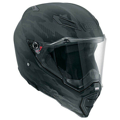 Casco Integrale Agv Ax-8 Naked Carbon Black - Fury Taglia Xl