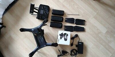 3DR Solo Drone + 3x Batteries + UPGRADED GPS + Case + spare propellers ...