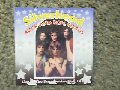 "Silverhead ""rock And Roll Circus Live In Japan 1974"" Ex Rare 1999 Promo Oop"