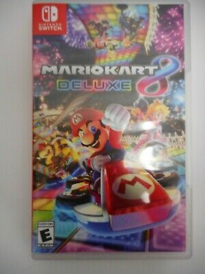 Mario Kart 8 Deluxe (Nintendo Switch, 2017) In Original Case