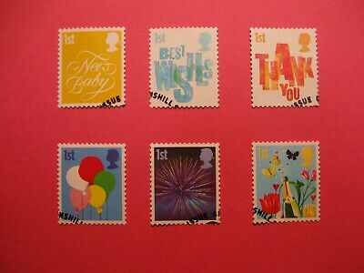 2006 Smiler Booklet Stamps Very Fine Used 4532