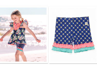 NEW WILDFLOWERS Road Trip Shorties size 12m 18m 2/4/6/8/10/12/14