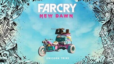FAR CRY NEW DAWN Pre-Order Code Unicorn Trike |  XBOX1 PS4 PC