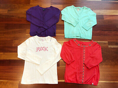 Lot Of 4 Girls Size 10-12 Clothing - Lucky Brand,gap,old Navy,children's Place