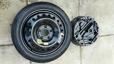 VAUXHALL INSIGNIA 17'' SPARE SPACE SAVER WHEEL + JACK SET + CONTINENTAL Tyre