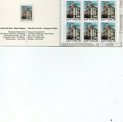 Latvia 2001 - Exhibition Booklet - Synagogue of Riga