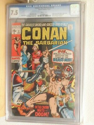 conan the barbarian 2 cgc 7.5