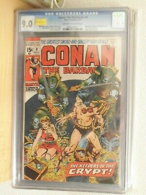 conan the barbarian 8 cgc 8.5