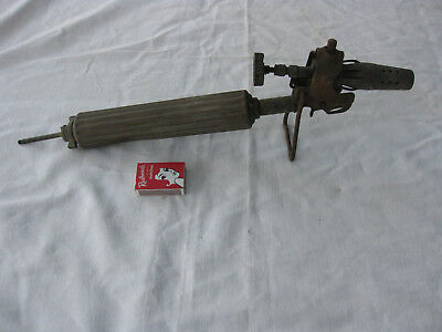 Vintage BLOW TORCH Tank Solderiing Brazing Farm For parts restoration #3