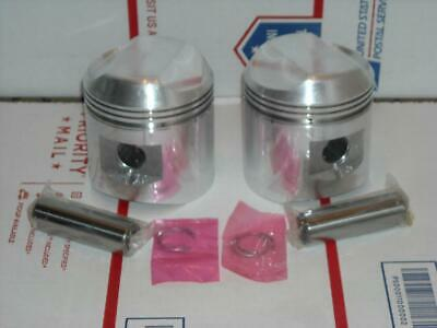 New Fits BSA +20 Piston Kit A65 Thunderbolt Lightning Firebird A65 1962 - 1970