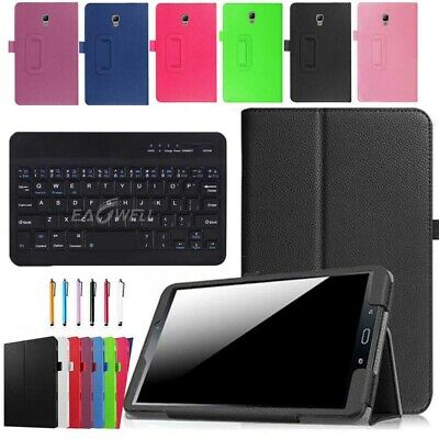 """For Samsung Galaxy Tab A 8"""" 2017 SM-T380 T385 Leather Case Cover Keyboard +Gift"""