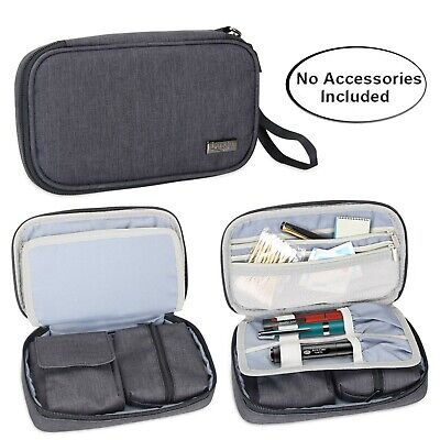 Luxja Diabetic Supplies Travel Case Storage Bag for Glucose Meter and Other ...