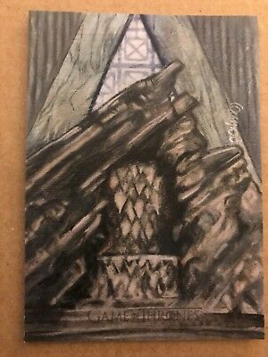Game Of Thrones - Season 7: Sketch Card: By Carlos Cabaleiro