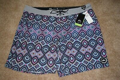 8d64b971a4 Men's Size 40 x 19 QUIKSILVER Highline Variable Swim Surf Boardshorts NWT