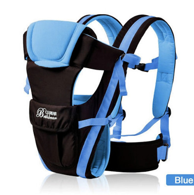 Newborn Infant Baby Carrier Breathable Ergonomic Adjustable Wrap Sling Backpack.