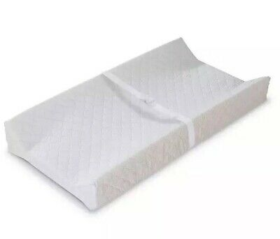 "Summer Infant Contoured Changing Pad Quilted Vinyl Waterproof 16"" x 32"""