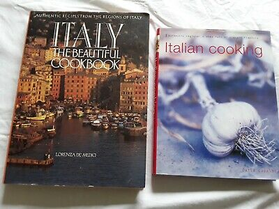 3 Italian Cooking Cook Books