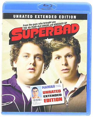 Superbad (Unrated Extended Edition) Blu-Ray Seth Rogen