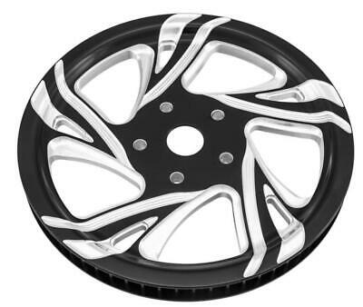 Xtreme Machine 0093-6066XCRL-BMP Cruise Pulley - 66Tx1in. - Black Cut Xquisite