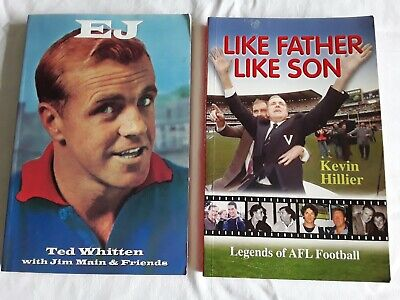 2 TED WHITTEN BOOKS (Western Bulldogs)