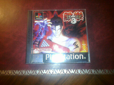 TEKKEN 3 ITA PAL RARO Vedi foto  Psx Ps2 rare ltd Namco beat em up no platinum