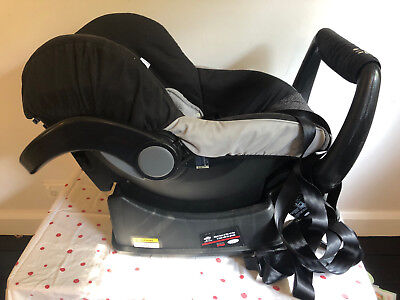 Britax - Safe n Sound, Unity, Series 40/A/2010, Black/Grey, Baby Car Capsule
