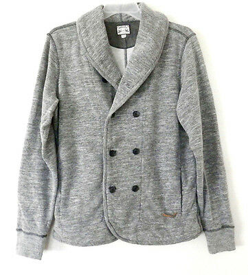 Clothing, Shoes & Accessories Men's Clothing Men's Barabas Black/White Cardigan Double Breasted Jacket Sweater WZ-254