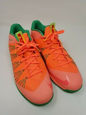 best service f5d56 0556f 2013 NIKE AIR MAX LEBRON X 10 LOW Watermelon Size 16 Sneakers 579765-801