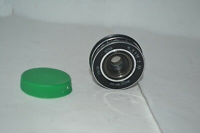Industar 69 2.8 / 28 wide-angle lens mount m = 39 for the Chaika camera.