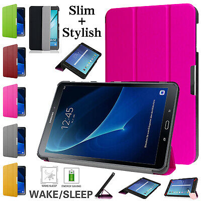 """For Samsung Galaxy Tab S2 9.7""""/8"""" Smart Magnetic Strong Case Striped Stand Cover"""