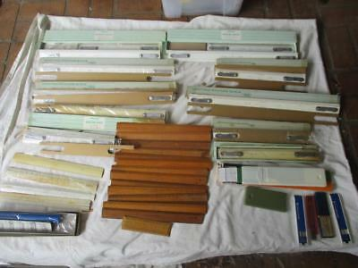 Large Lot Of Vintage Drafting Scale Drawing Engineer Supplies W&g