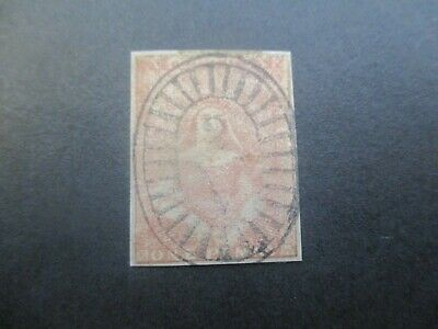 Victoria Stamps: Half Length Imperf Used  (o67)