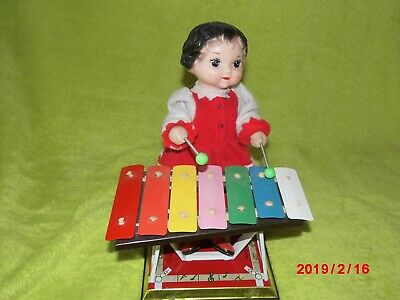 Mechanische XYLOPHON SPIELERIN 'LITTLE PERFORMER' MS 085, China, ca. 1970