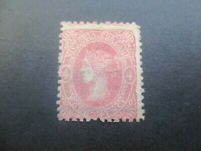 Victoria Stamps: 4d Beaded Ovals Mint with gum - Rare Stamp    (o70)
