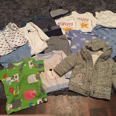 Baby Boy Clothing Bundle 6-9 Months