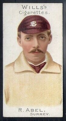 Wills-Cricket Er Series 1901 (Plain Background)-#23- Surrey - Abel