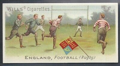 Wills-Sports Of All Nations-#16- Rugby - England